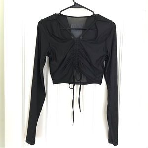 NWT Ultra Rare Sample BCBGeneration Cropped Top